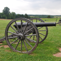 cannons in Manassas National Battlefield